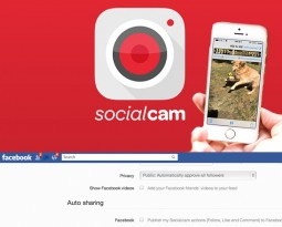 SocialCam: Know Your Settings