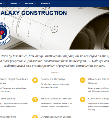 EB Galaxy Construction