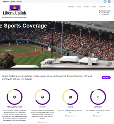 Liberty Uplink – Satellite Uplink Services